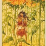 Native American Tarot — Королева монет