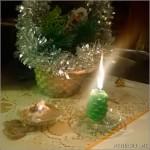 Первые новогодние огоньки