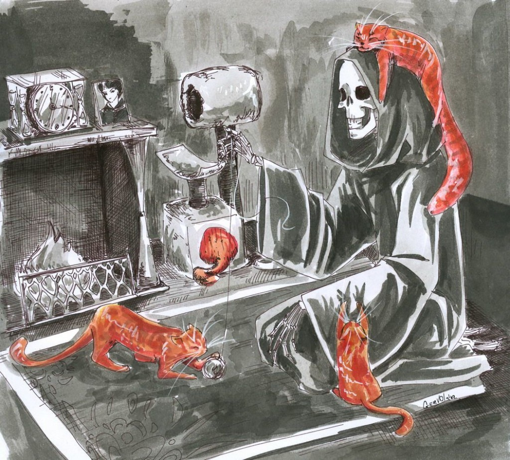смерть и кошки